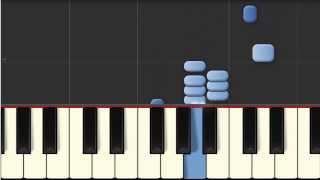 Piano - Synthesia - Kdrew - Bullseye - Slow to Fast Intro