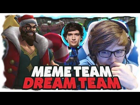 C9 Sneaky   MEME TEAM DREAM TEAM