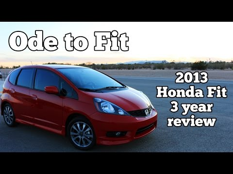 Ode to Fit 2013 Honda Fit Sport 3 Year Review and Look Back