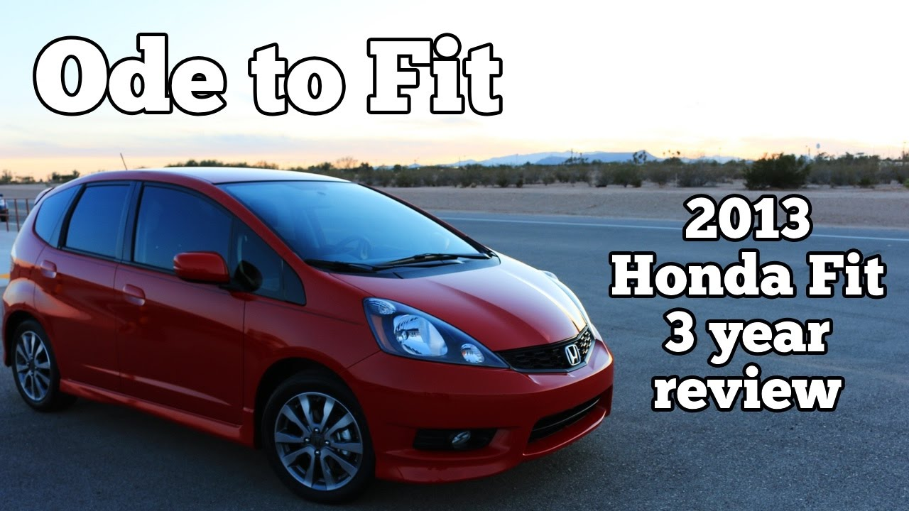 Captivating Ode To Fit: 2013 Honda Fit Sport 3 Year Review And Look Back