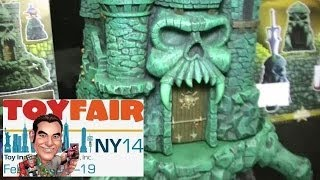 Icon Heroes Masters of the Universe Product at New York Toy Fair 2014
