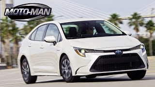 2020 Toyota Corolla Hybrid HEV Sedan FIRST DRIVE REVIEW & TECH REVIEW