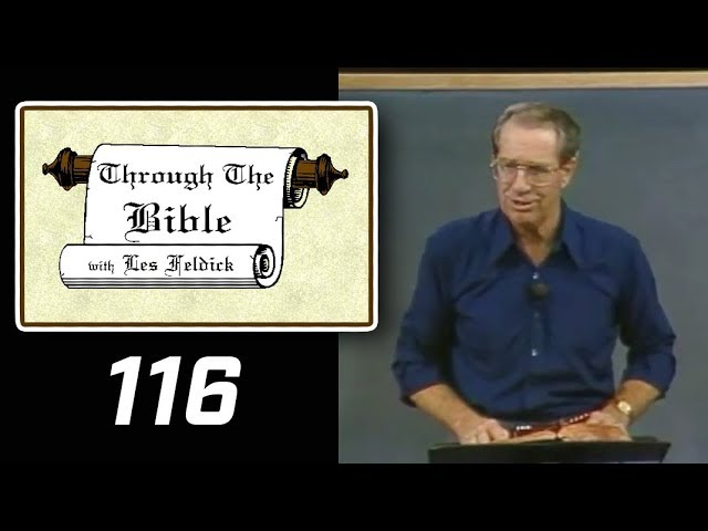 [ 116 ] Les Feldick [ Book 10 - Lesson 2 - Part 4 ] Prayer - Prophesy - Old Testament: Daniel 6 & 9