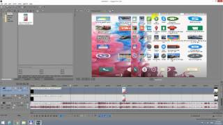 How to Transform Vertical videos into Horizontal in Sony Vegas (Blurred Background)