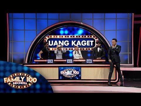Apakah tim Uang Kaget berhasil menjawab semua pertanyaan survey? - Family 100 Indonesia