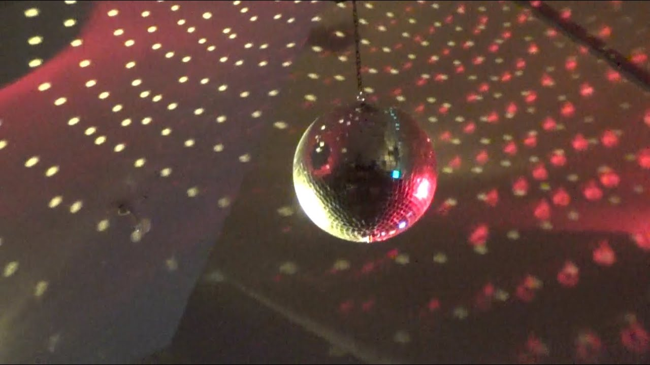 Disco Ball Hang From Living Room Ceiling
