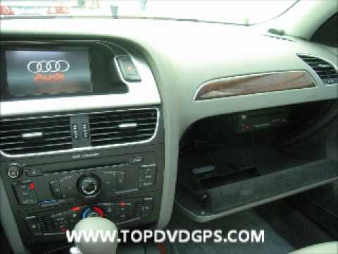 audi a4 navi gps radio car dvd ipod bluetooth 2011 youtube. Black Bedroom Furniture Sets. Home Design Ideas