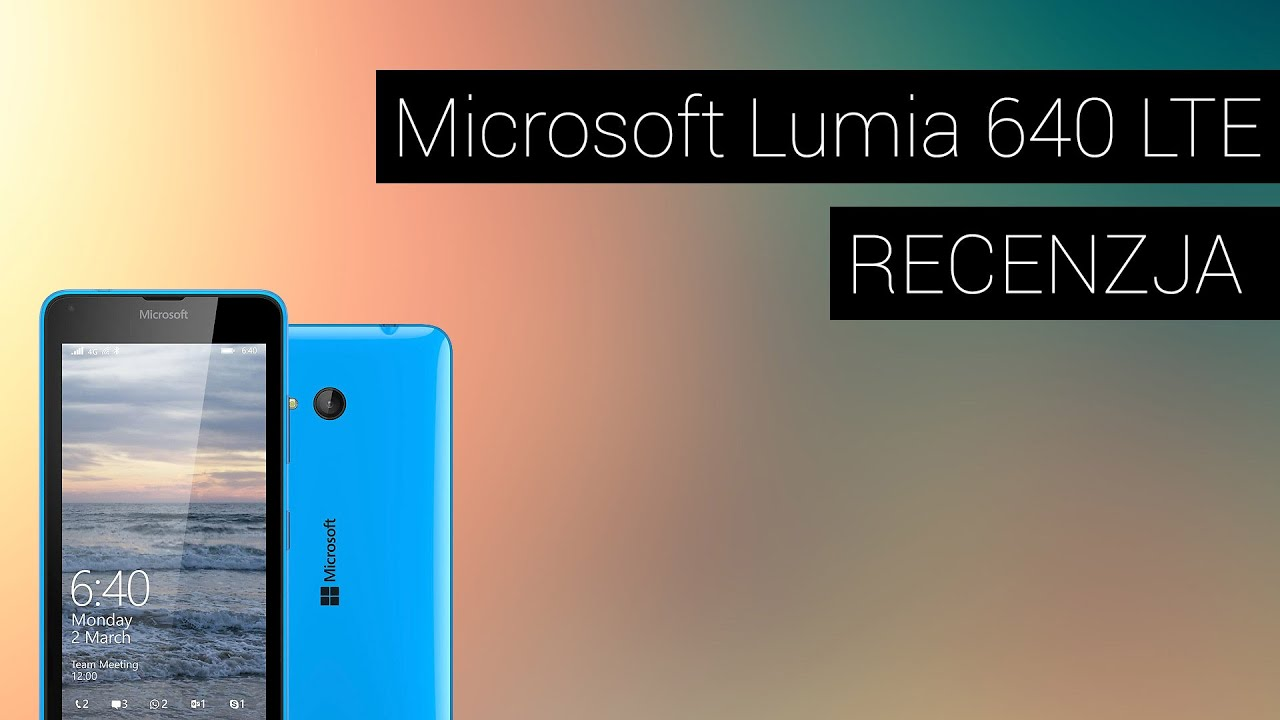 Unboxing Microsoft LUMIA 640 LTE [TH] - YouTube