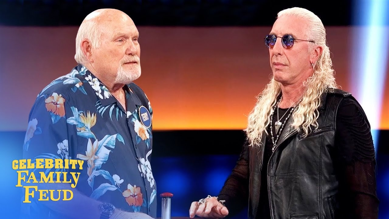 Celebrity Family Feud: Dee Snider vs. Terry Bradshaw and ...