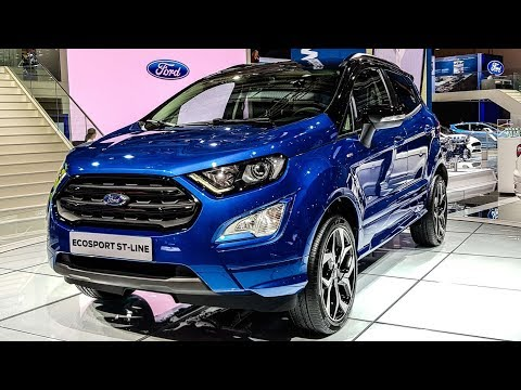 2017 Ford EcoSport Facelift ST-Line Walkaround - Live | MotorBeam