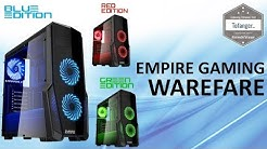 Empire Gaming Warefare - Boitier PC Gamer LED - Gaming Case  - Unboxing