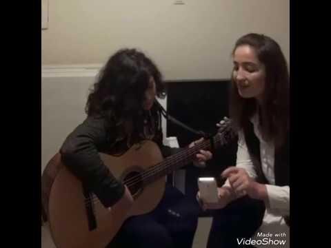 Mine Geçili - Gülümse  (Gitar : Aleyna Yıldız)