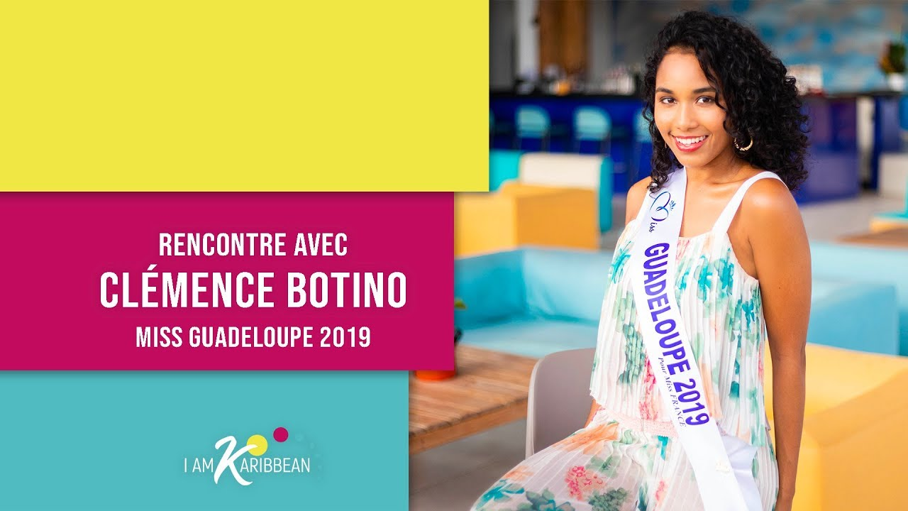 cl mence botino miss guadeloupe 2019 pour miss france. Black Bedroom Furniture Sets. Home Design Ideas