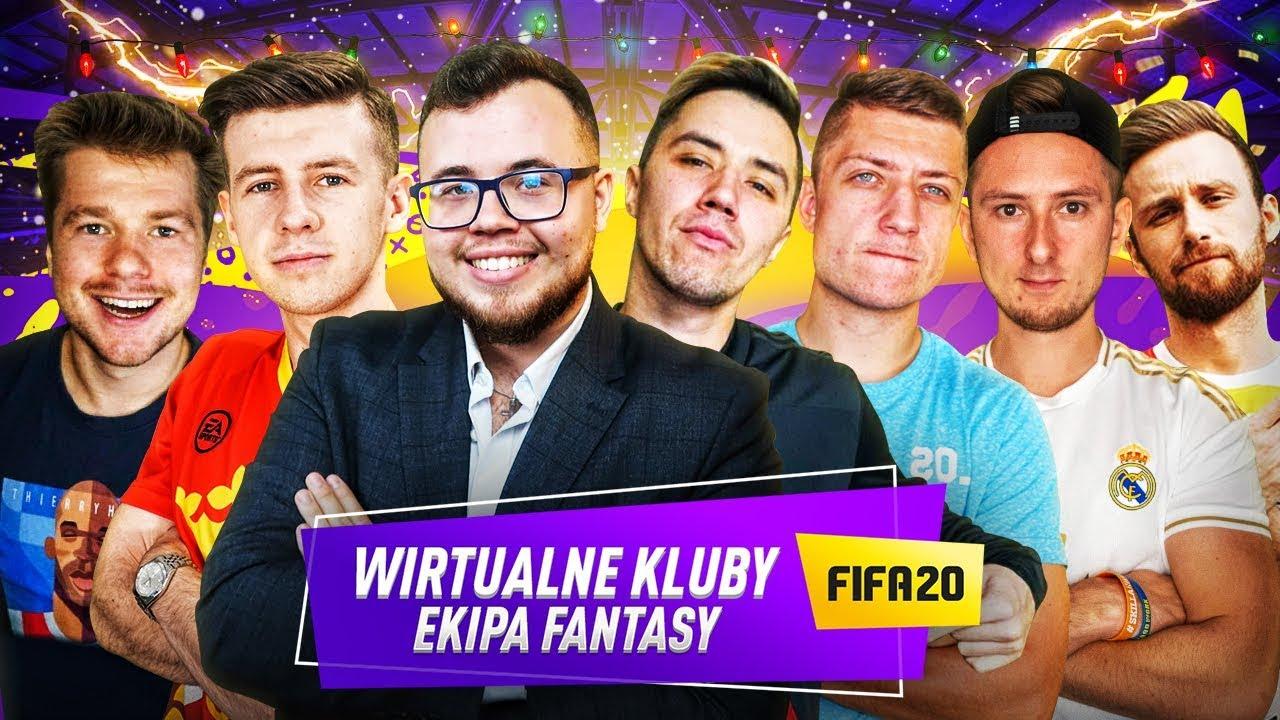 EKIPA FANTASY - SZALONE WIRTUALNE KLUBY | FIFA 20 🎄🎅