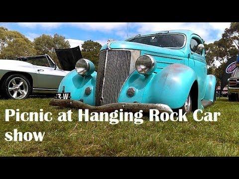 Picnic @ Hanging Rock car show Hot Rods Muscle cars classics 2018