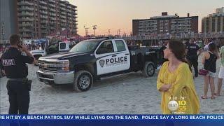 2 Beachgoers Struck By Patrol Vehicle In Long Beach