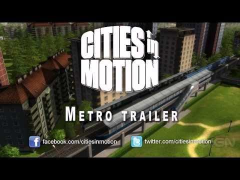Cities in Motion: Metro Trailer