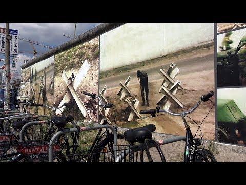 Germany Berlin - East Side Gallery Open-Air-Installation Beyond the wall by Stefan Roloff