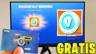 REDEEM YOUR 2500 FREE PAVOS NOW on FORTNITE!