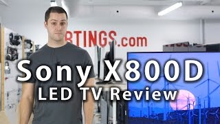 Sony X800D TV Review - Rtings.com