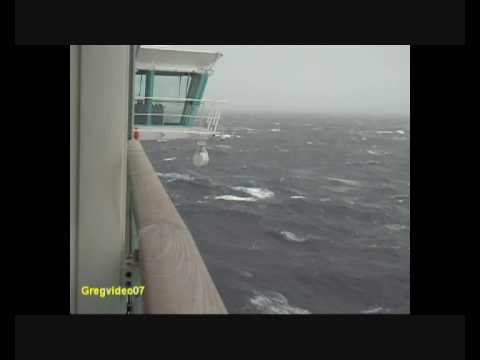 Independence Of The Seas In Bay Of Biscay Gale