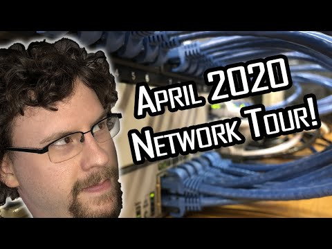 A Tour Of My Home Network! (April 2020)