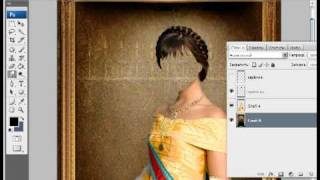 Уроки фотошопа CS3 - Шаблон. Часть 1.avi