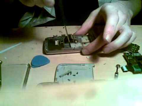 Samsung SGH G800 Disassembly