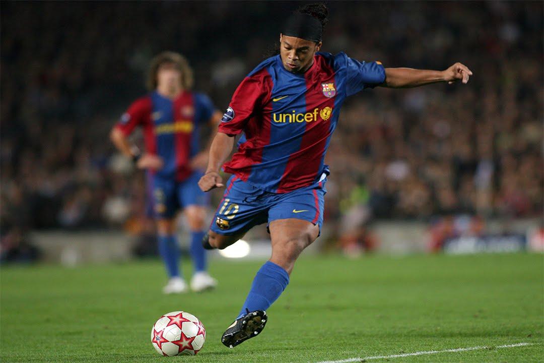 Ronaldinho Gaucho Top 10 Goles De Tiro Libre HD