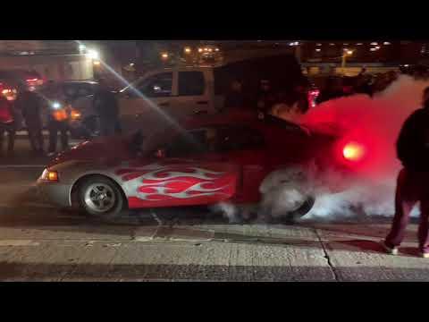 Turbo CTSV Vs Turbo TBSS. CTSV Almost Crashes?! Turbo LS Cobra Vs Supercharged 5.0 In Mexico
