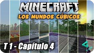 Minecraft - Los Mundos Cúbicos - T1 - Capitulo 4 - El Portal Misterioso  - 1080p HD