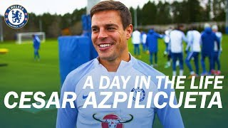 ''He's Verging On Annoying And A Nightmare'' | Azpilicueta A Day In The Life | Chelsea Films