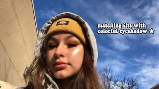 wearing-colorful-eyeshadow-for-a-week-to-school-2019-freshman