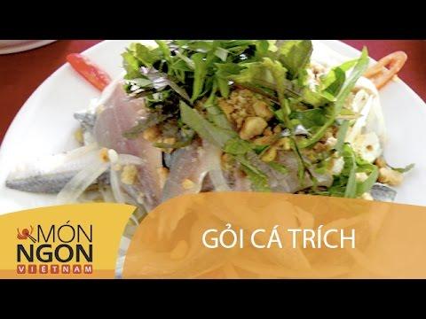 Dạy cách làm gỏi cá trích Phú Quốc | Món Ngon Việt Nam