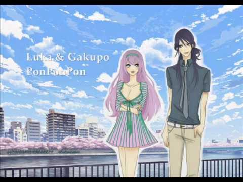 【Luka & Gakupo】 PonPonPon 【Duet】