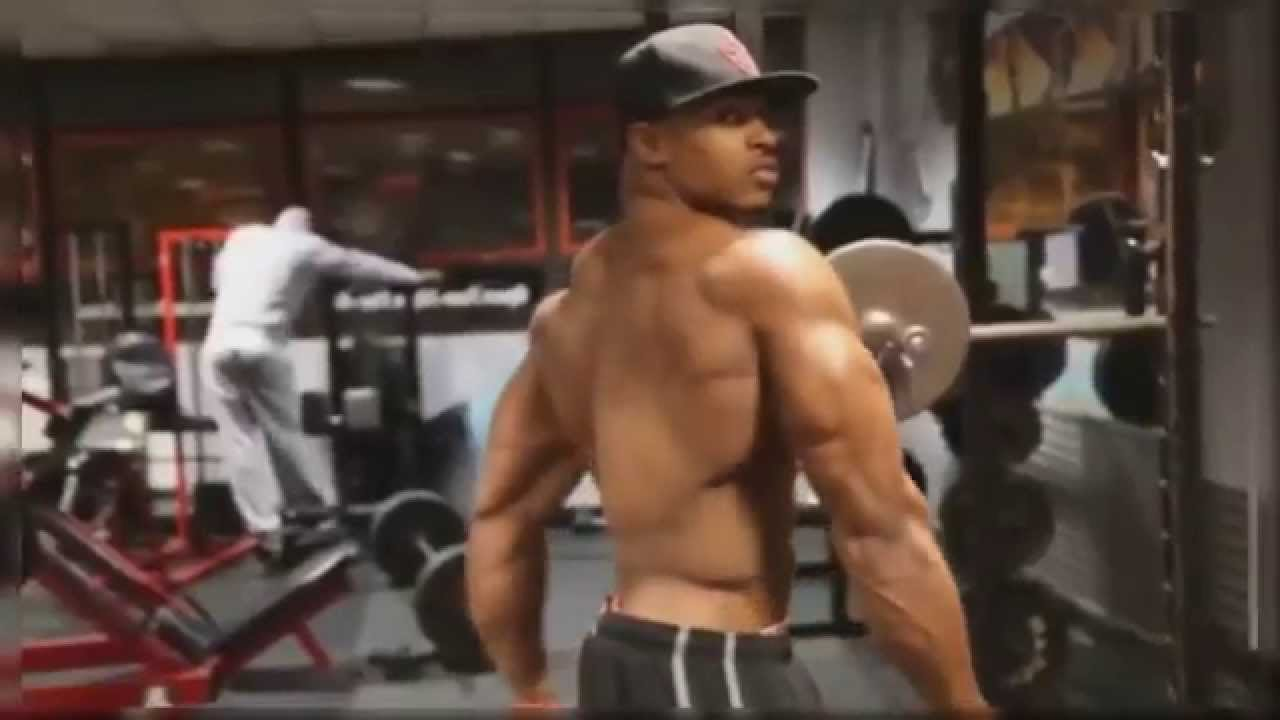 Simeon Panda Full Body Workout Bodybuilding For Mass Shoulders Legs Back Chest Biceps Tricep Abs You