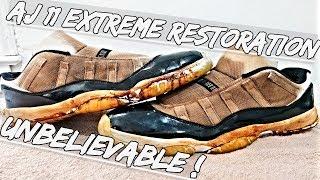 AJ Low Concord 11 Extreme Restoration UNBELIEVABLE !