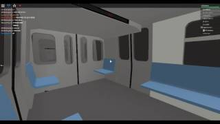 Roblox MTA 1984 R143 train On the J