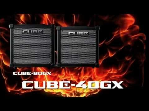 Roland CUBE GX Series Guitar Amplifier Overview