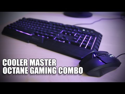Cooler Master Octane Keyboard and Mouse Combo Review
