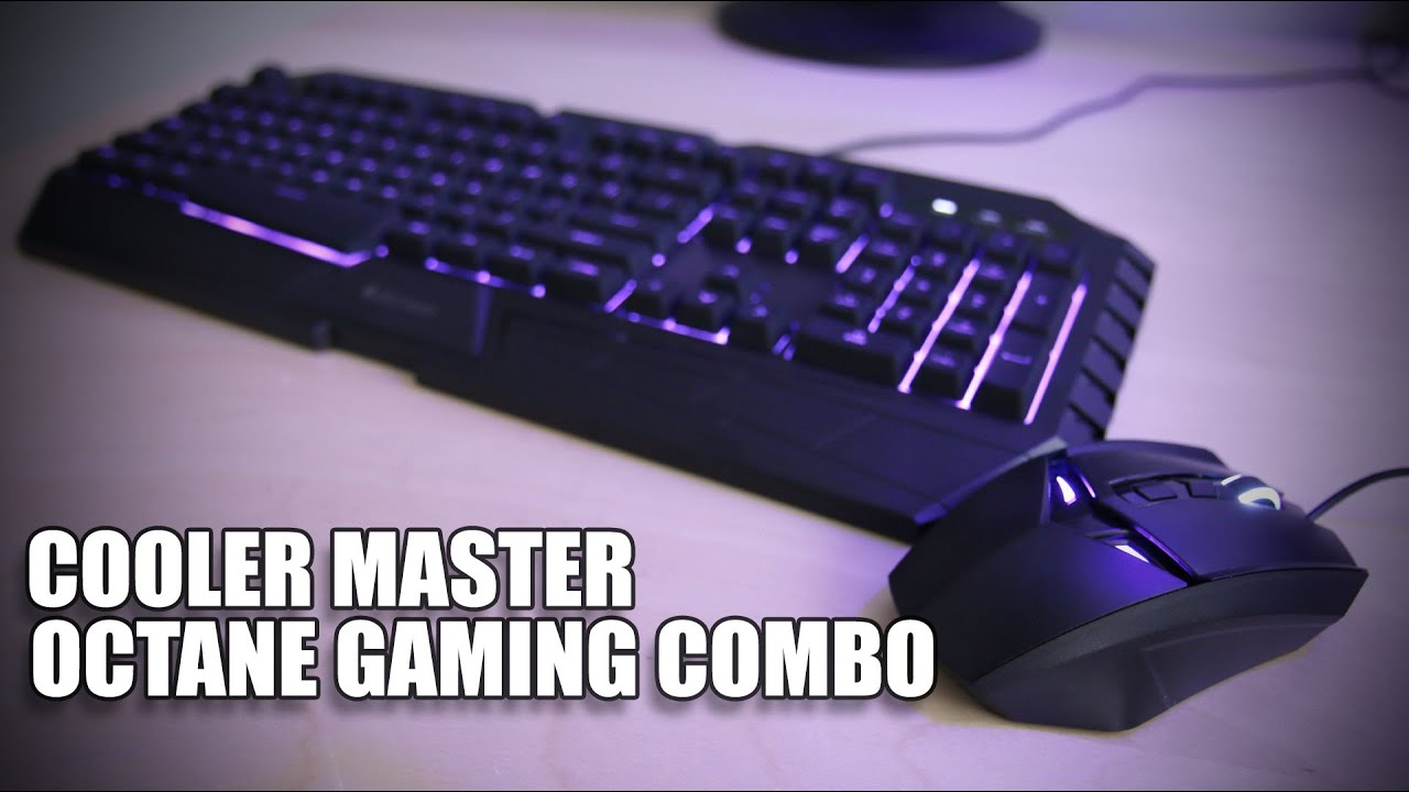 6f4b65d18b3 Cooler Master Octane Keyboard and Mouse Combo Review - Vloggest