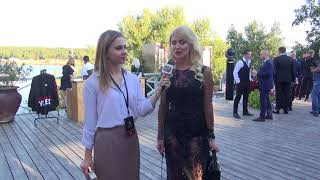 Смотреть видео Интервью Ирины  Писаревой  -   бизнес   вумен - нутрициолог онлайн