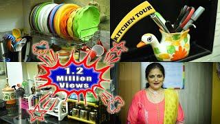 Kitchen Organization Ideas Indian    Kitchen Organization     My Kitchen   Vijayas Recipes