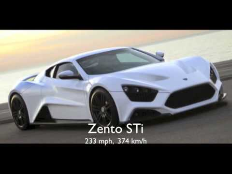 7150c2717197 The top ten worlds fastest cars 2012 2013 - YouTube