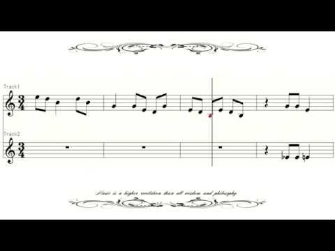 [Sheet Music] Dvorak Symphony9 3 From the New World