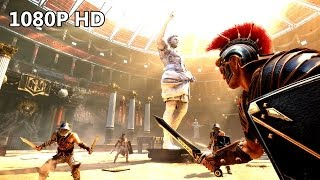 RYSE: SON OF ROME 1080P HD Gameplay - The Beginning Walkthrough Part 1 on XBOX ONE