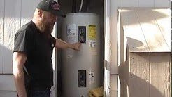 Electric water heaters : Save on electric with little effort or cost