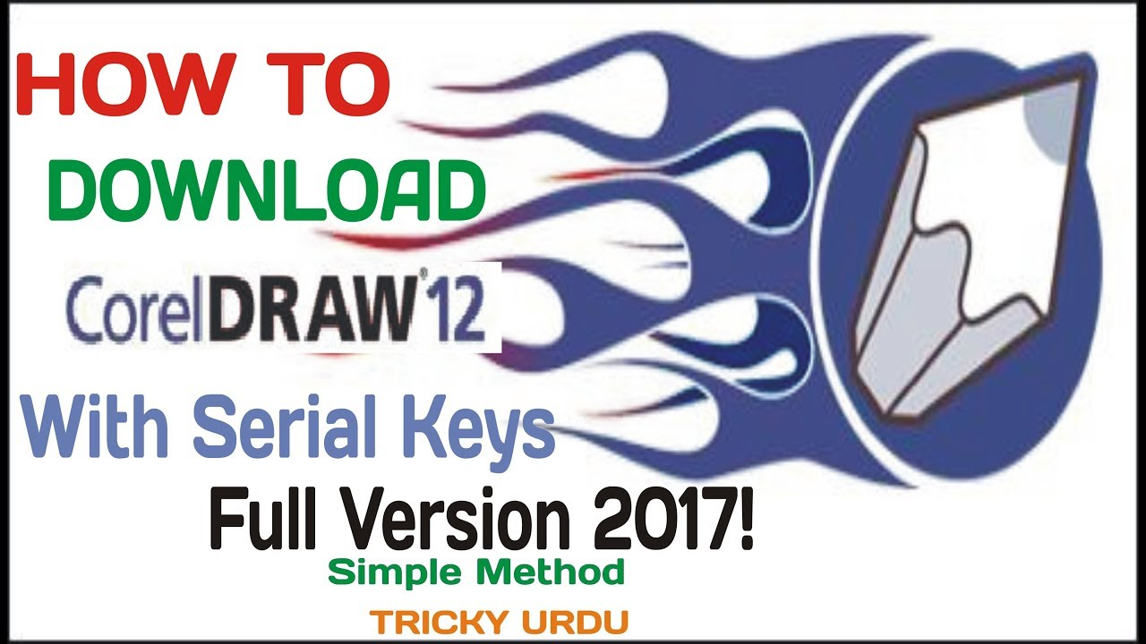 corel draw software free download full version 12 with serial key