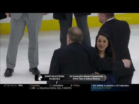2020 Beanpot Finals: Northeastern Vs. Boston University Highlights