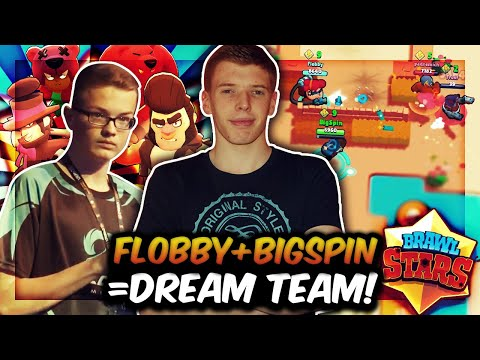 FLOBBY + BIGSPIN = BRAWL STARS DREAM TEAM?! | Duo-Dominanz im Showdown Modus! | Brawl Stars Deutsch